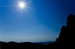 The tiny photographer (Alexandre Moreau | Photography) Tags: blue sky silhouette wow landscape isleofskye wideangle uwa scotlandslandscapes nikond7000