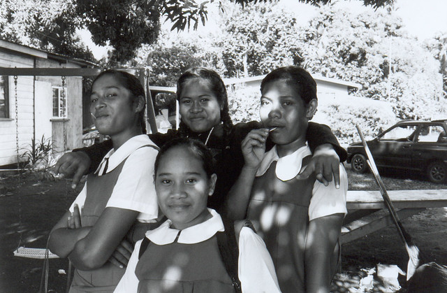 Young Tongan Students