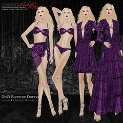 DNR Summer Donna Square Posters Purple (designingnickyree) Tags: bikini dresses gowns sarongskirt nickyree slfashion resortfashion