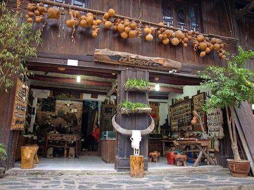 Xijiang - tienda