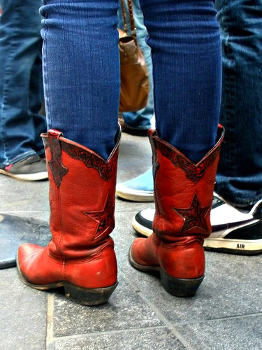 red star boots