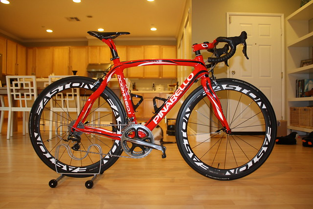 Pinarello Dogma Team Bissell Build