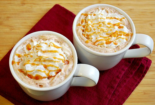 Salted Caramel Hot Cocoa