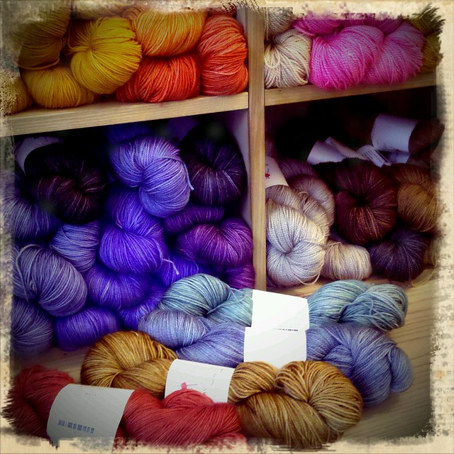 Anzula Yarn at Purl Soho