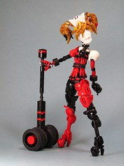 Harley Quinn (retinence) Tags: girl female factory lego contest super harley unite hero batman quinn heroes fusion bionicle villian moc