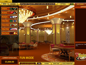 7Spins Casino Lobby