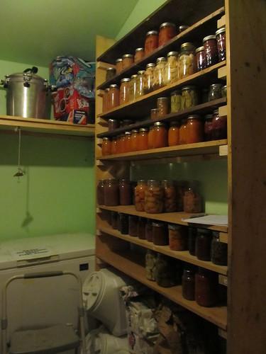 pump house shelves