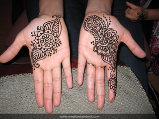 Henna palms