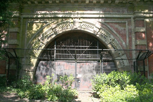 The Paxton tunnel portal