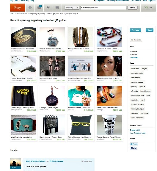 geekery treasury