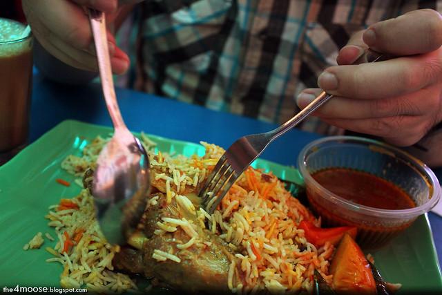Thohirah Thai Muslim Seafood - Mutton Briyani