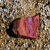 CB568 Red Pebble (listentoreason) Tags: red vacation usa lake color stone closeup america canon geotagged franklin sandstone unitedstates pennsylvania geocoded favorites places event material carbon thepoconos towamensing ef28135mmf3556isusm score40 beltzvillelake beltzvillestatepark beltzvillepark