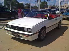 1987 Chevrolet Cavalier Z24 Convertible (V6CavRS) Tags: chevrolet 10 1987 convertible vert chevy type cavalier 87 z24 cavilier caviler
