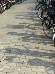 shadows (Judy **) Tags: shadow amsterdam bicycles schaduw fietsen 2012 100pictures