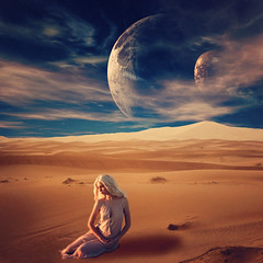 Barren (RachelMarieSmith) Tags: portrait game photoshop desert manipulation fantasy planets deviantart barren thrones otherworldly gameofthrones
