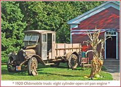 1920 Oldsmobile truck (sjb4photos) Tags: alltypesoftransport 1920oldsmobiletruck 2011oldcarfestival