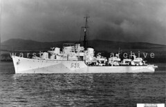 HMS Obdurate (Image Ref: warship3456) (ww2images) Tags: destroyer battleship warship royalnavy waratsea obdurate navyphoto britishships hmsobdurate warshipimages warshipimagescom warshipphotos