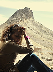 (DeLaRam.) Tags: mountain girl sad iran delaram 91113 pirnaraki