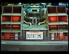 I'm out of time. ( The future is unwritten.-) Tags: film argentina canon back al ae1 bttf future delorean patente futuro volver garbarino outatime