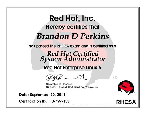 RHEL6 Red Hat Certified System Administrator - a photo on Flickriver