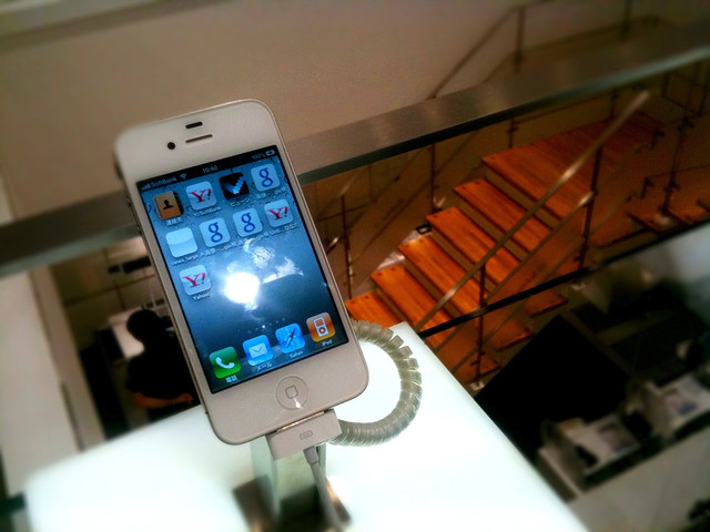 iPhone 4s 予約しました@Softbank 表参道