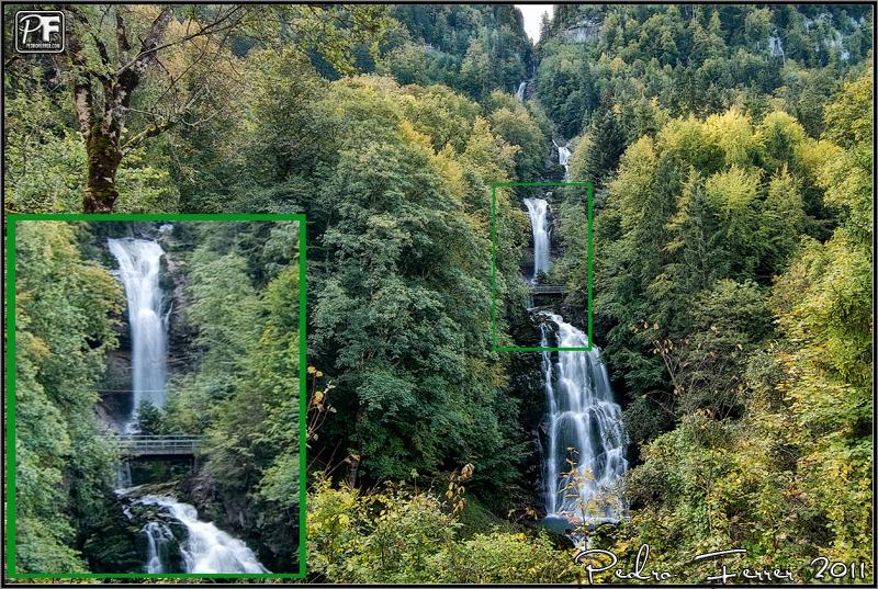Suiza - El pais de las cascadas - Giessbachfälle