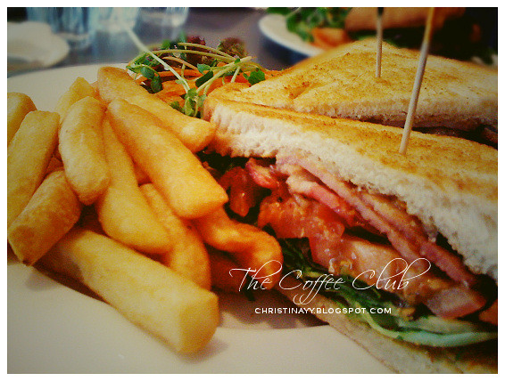 The Coffee Club Toowoomba: BLT