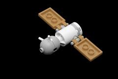 Soyuz Spacecraft (pasukaru76) Tags: lego spacecraft sovietunion ussr moc soyuz canon100mm microscale