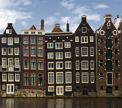 Amsterdam Architecture (Vasilis Mantas) Tags: windows house holland art netherlands amsterdam architecture canon photography canal l 1740 500d 2011 vmantas vmantasphotography