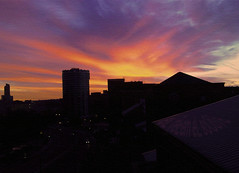 أدْعـــي ♥ (eL reEem eL sro0o7e ♥) Tags: morning england sunrise unitedkingdom sheffield noise elreeemelsrooo7e