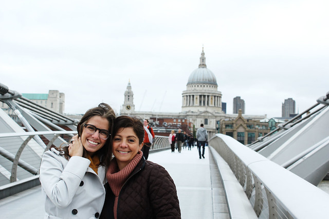 millenium bridge to st. paul's
