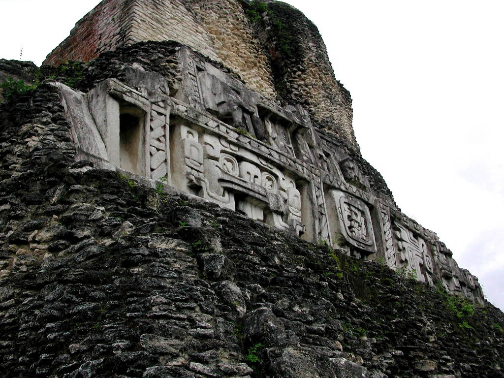 Xunantunich, an early Mayan site.