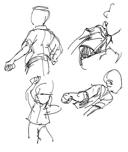 Gesture studies - 10/10/11