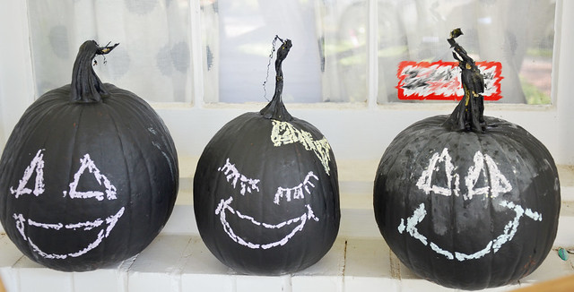 painted pumpkins 2