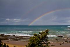 Double Rainbow (Cursomn) Tags: rainbow australia double greatoceanroad doblearcoiris canoneos60d efs18135mm cursoman