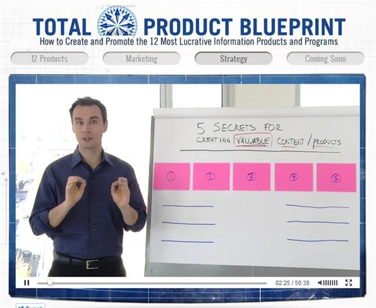 ブレンドン・バーチャード(Brendon Burchard)、『Total Product Blueprint』(トータル・プロダクト・ブループリント)の「無料動画講座シリーズ」の3本目の動画