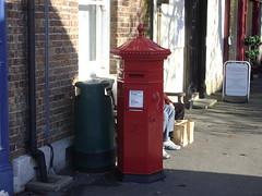 Victorian Post Box, Dorchester, Dorset (historian55) Tags: dorset dorchester vicrorianpillarbox