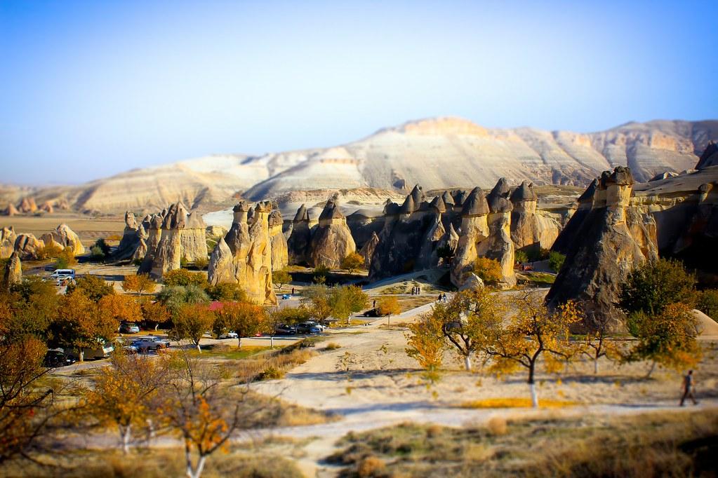 Fairy Chimneys - Cappadocia, Turkey