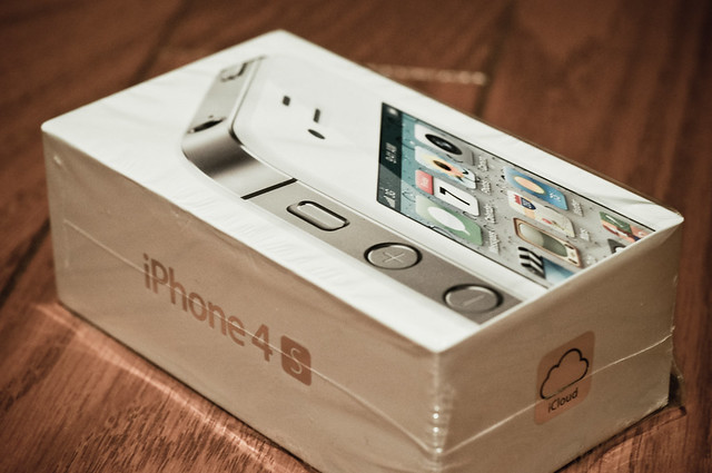 iPhone 4S Unbox