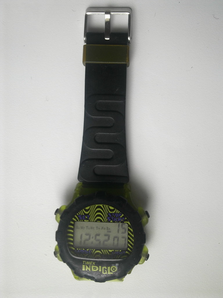 Unusual watch