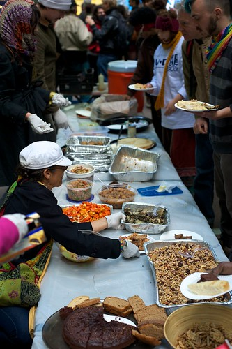 Occupy Wall Street Kitchen (Photo: Kevin Loria, flickr)