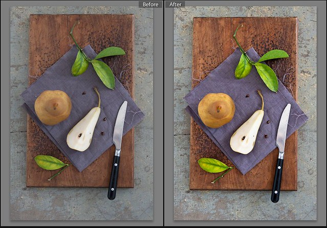 Pears (Before and After)