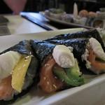 "Sushi <a style=""margin-left:10px; font-size:0.8em;"" href=""http://www.flickr.com/photos/14315427@N00/6253204566/"" target=""_blank"">@flickr</a>"