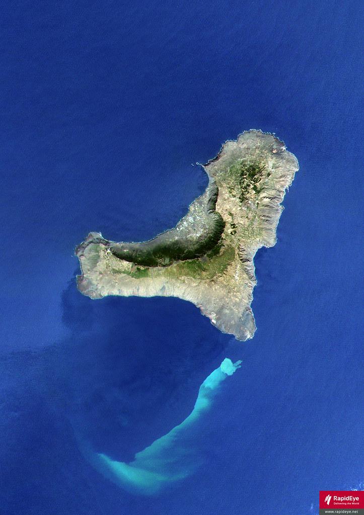 Resultado de imagen de erupcion volcanica isla hierro