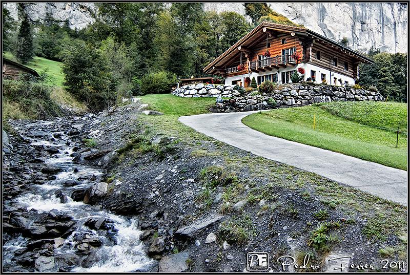 Suiza - Casitas de cuento - Lauterbrunnen