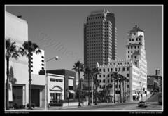 Downtown Long Beach (SkylineScenes (Bill Cobb)) Tags: california city urban skyline losangeles cityscape socal longbeach pike rainbowharbor oceancenterbuilding