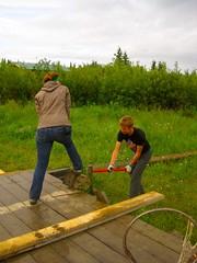 IMG_4420 (Visions Service Adventures) Tags: travel camp people alaska work visions ak adventure teen volunteer communityservice