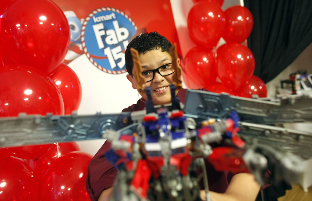 Kmart Fab 15 Toy Reveal with Rico Rodriguez