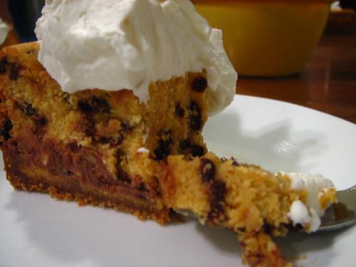 chocolate chip pumpkin cheesecake