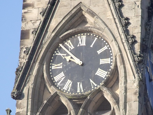 Church of All Saints - Leamington Spa - Spire - clock